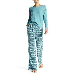 Joie Isabeli Wide Leg Silk Printed Pant S